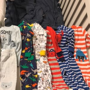 18M winter pajama bundle